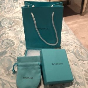 Tiffany & Co. Jewelry - Tiffany & Co Empty Box, pouch and bag